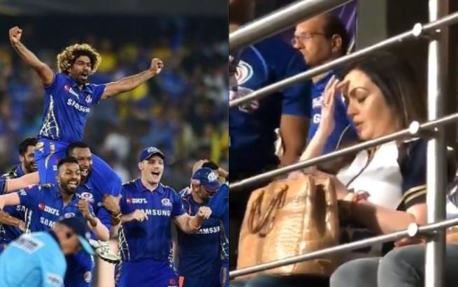 Twitterati Mystified Over Nita Ambani S Secret Mantra As Mumbai Indians Pull Off Thrilling Last Ball Win To Claim 4th Ipl Title Janta Ka Reporter 2 0