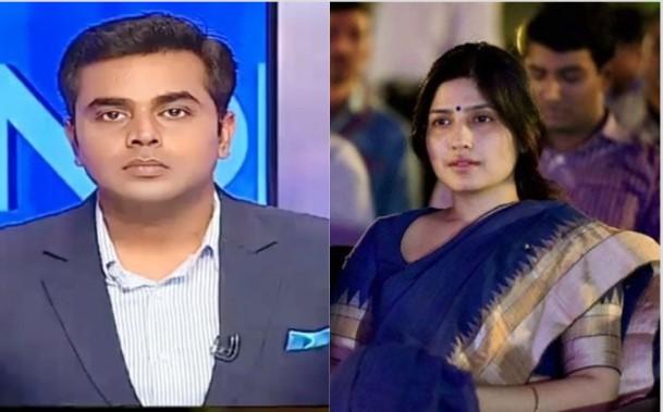 India TV anchor faces condemnation for addressing Dimple Yadav crudely - Janta Ka Reporter 2.0