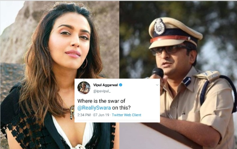Gujarat IPS officer faces condemnation for trolling Swara