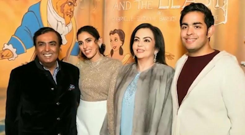 Shloka Mehta becomes lucky mascot for Mukesh and Nita Ambani