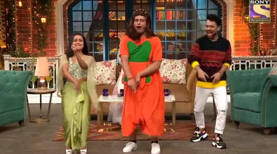 Krushna Abhishek Of The Kapil Sharma Show Hilariously Declares Neha Kakkar Indian Idol S Archana Puran Singh In Throwback Video Kikua Sharda Had Mocked Neha S Height